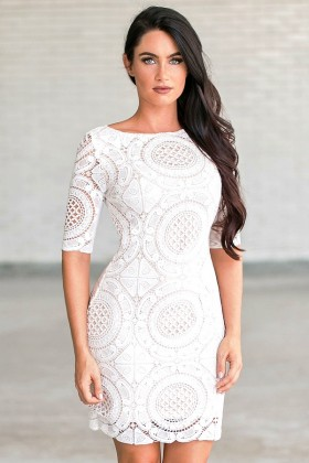 Bohemian Style White Dresses At Lily