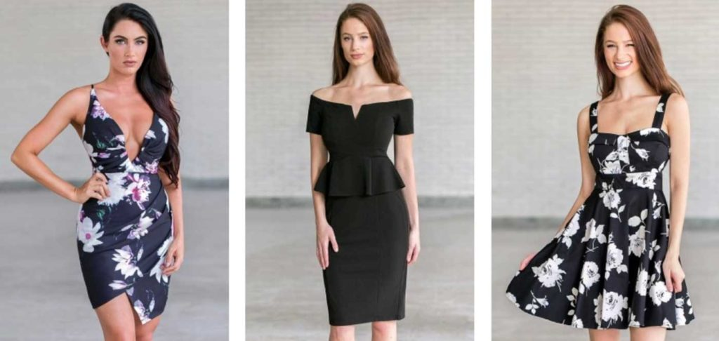 black dresses for woman
