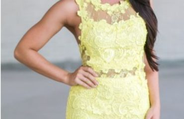 Cute Dresses in Yellow At Lily
