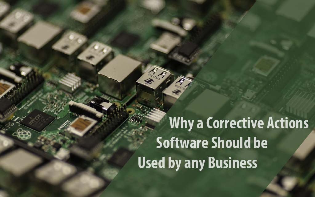 corrective actions software